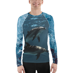Dolphins Men's Rash Guard
