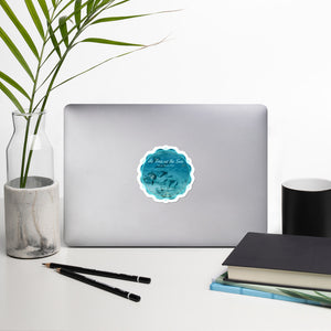 As free as the sea - Bubble-free stickers