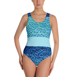 Brain Coral - One-Piece Swimsuit