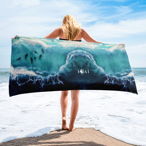 Seacreat from the Deep Blue Towel
