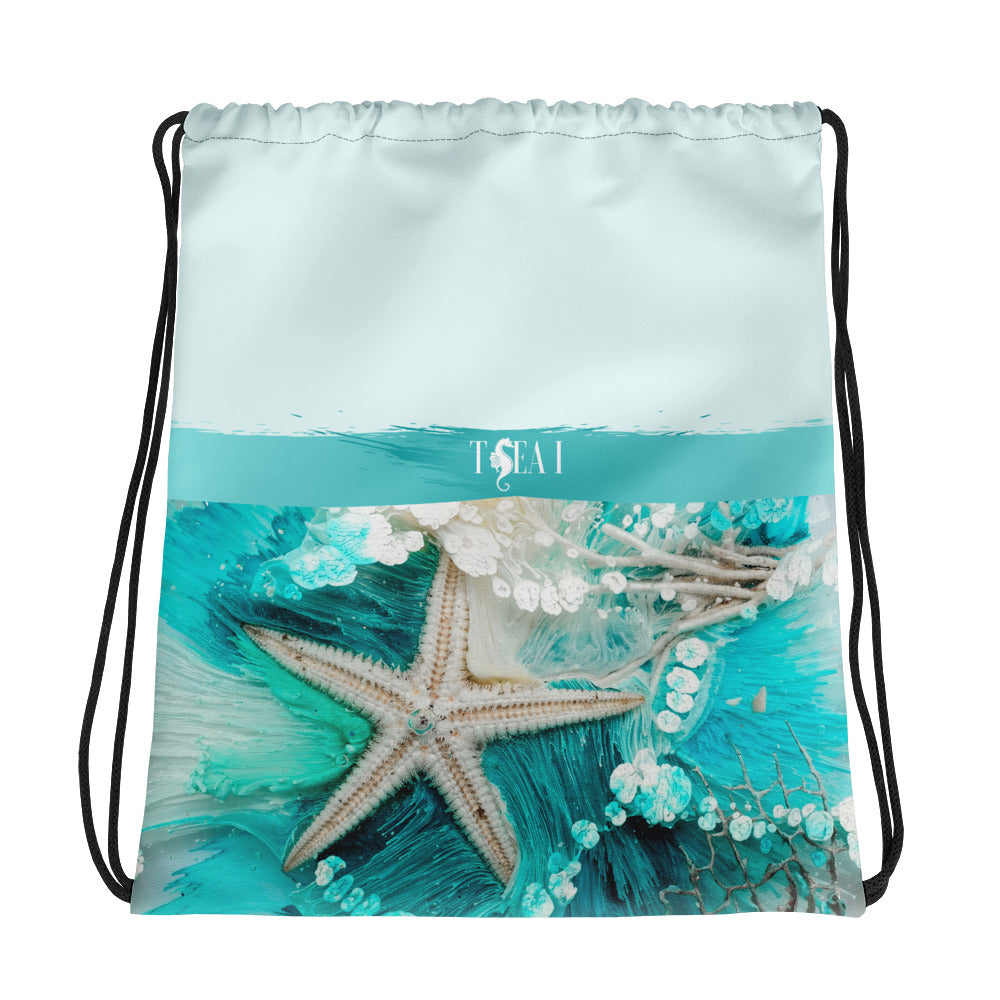 Sea-Star Drawstring bag