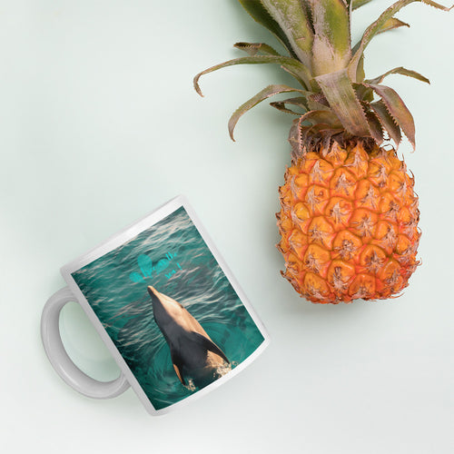As free as the Sea - Mug by Justin Okoye