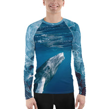 SALT CAY Whale TAIL Men's Rash Guard