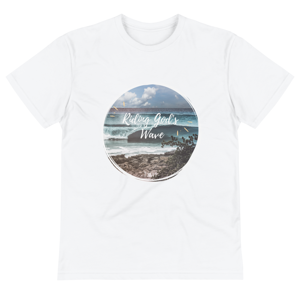 Riding God's wave - Eco - Sustainable T-Shirt