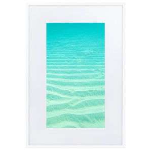 Dreams from the Sea iii Matte Paper Framed Poster With Mat