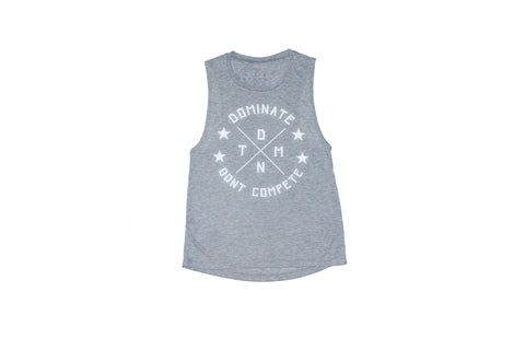 DMNT Muscle Tee - Heather