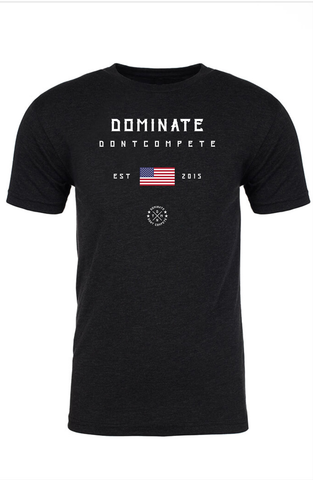 DOMINATE TEE Black USA
