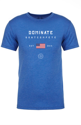 DOMINATE TEE Royal USA