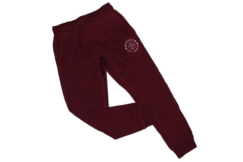 DOMINATE Joggers / Maroon
