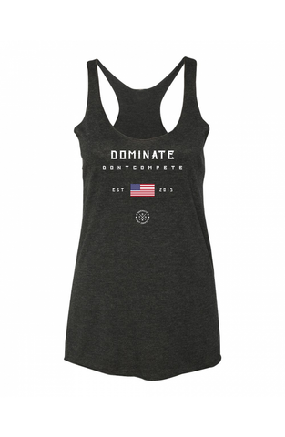 DOMINATE Racerback Black USA