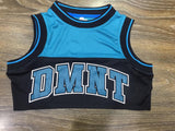 DMNT Crop Jersey - Teal / Black