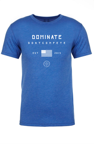 DOMINATE TEE Royal America