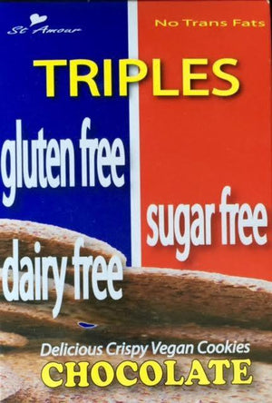 Triples - Triple Free cookies - Chocolate - Healthy Cookies Direct