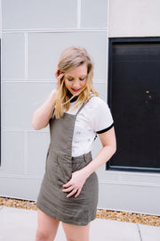 Olive You Overall Dress