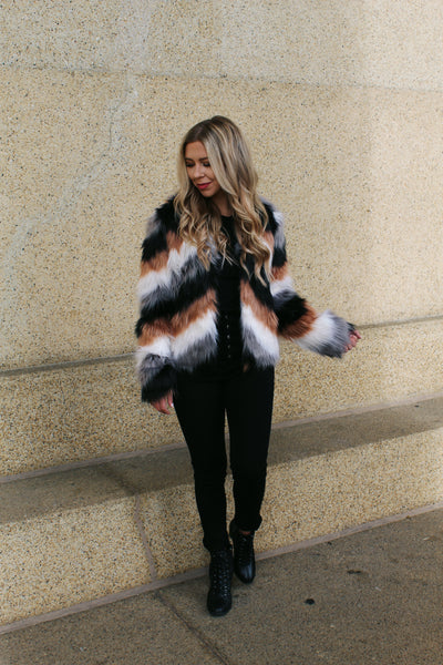 Go All Out Faux Fur Jacket