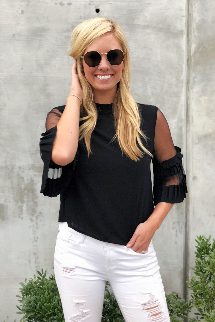 Belle of the Ball Black Top