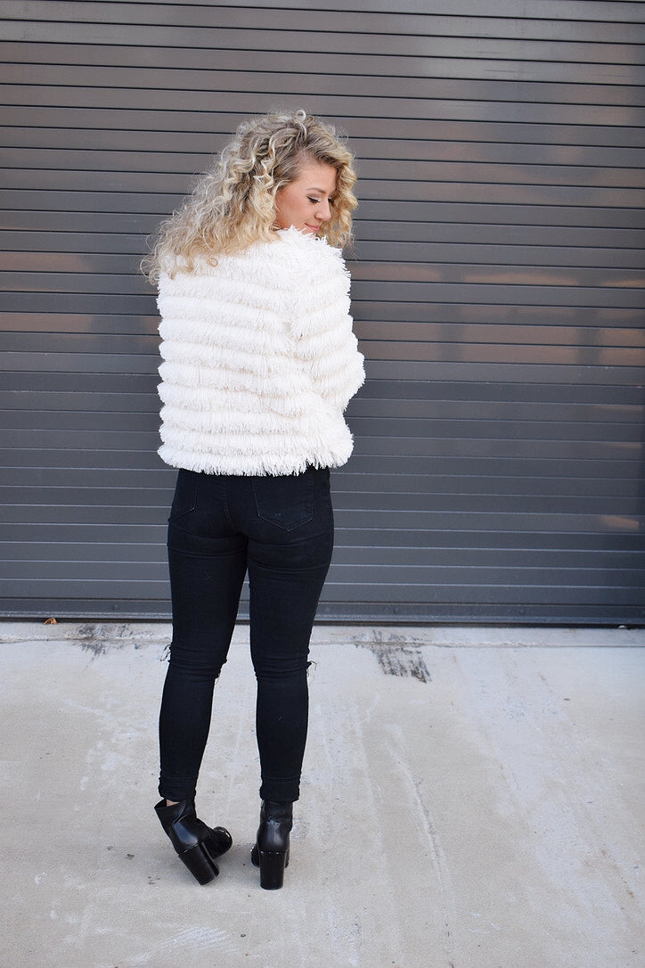 Winter Dream Faux Fur Jacket