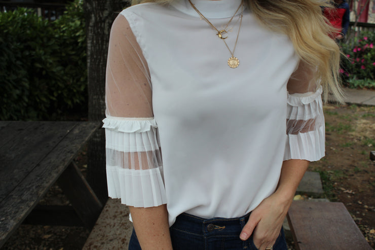 Belle of the Ball White Top