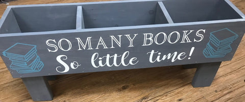 "35"" Book Box YOU DESIGN"