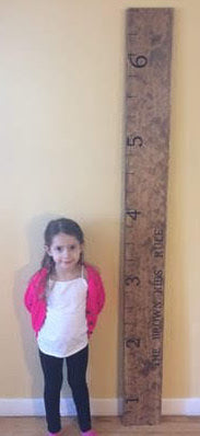 6 ft Custom Growth Chart