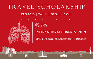 GSK Travel Scholarship for ERS-Madrid 2019