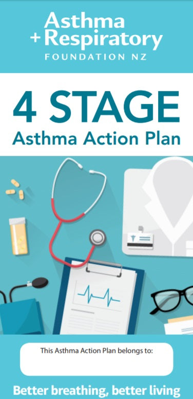 4 STAGE Asthma Action Plan