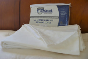 MiteGuard Cotton Duvet Cover