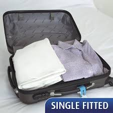 MiteGuard Cotton Travel Fitted Sheet