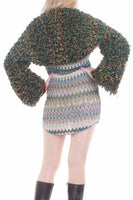 Chunky Knit Cropped Bolero Sweater