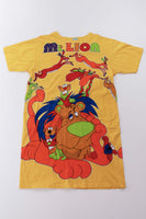 Vintage 80s Mr. Lion Novelty Oversized T-Shirt