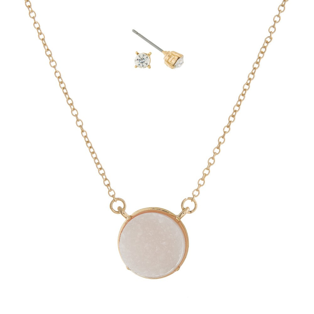 THE ITS A DRUZY - NECKLACE