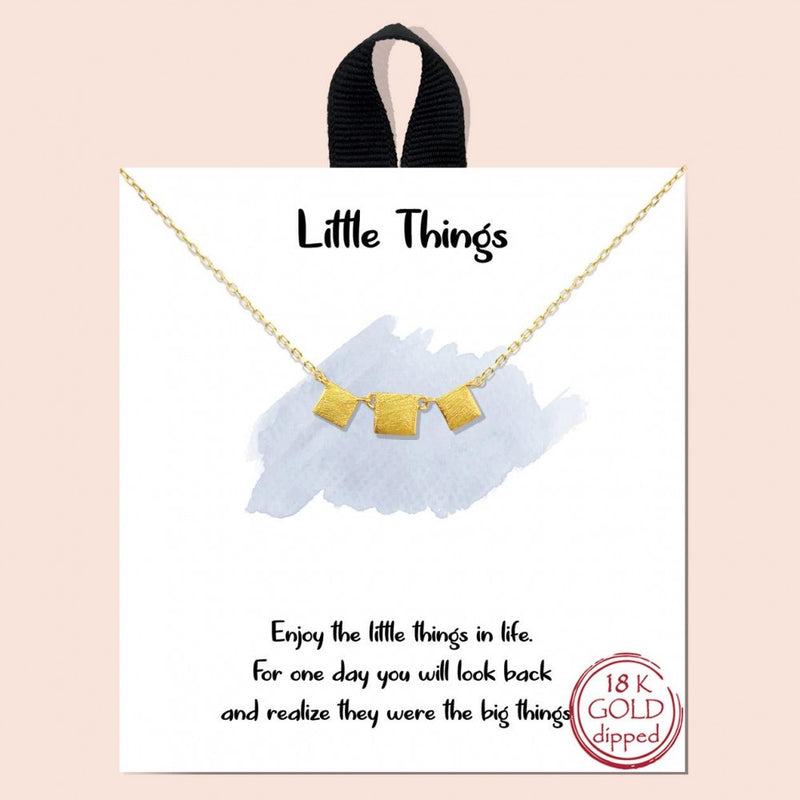 THE LITTLE THINGS NECKLACE
