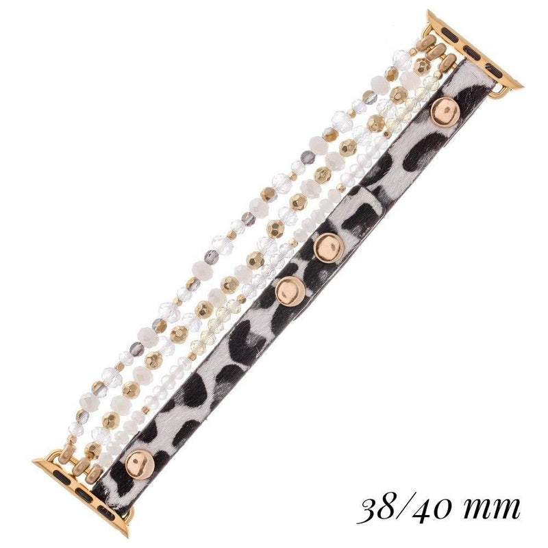 THE BE DAZZLED WATCHBAND - IVORY