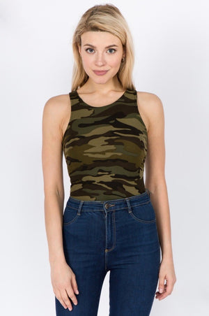 THE THATS THE WAY I LIKE IT BODYSUIT- CAMO