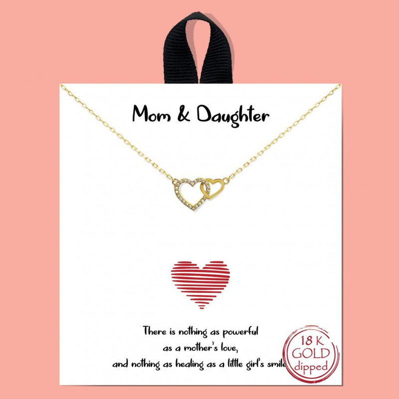THE MOM & DAUGHTER NECKLACE