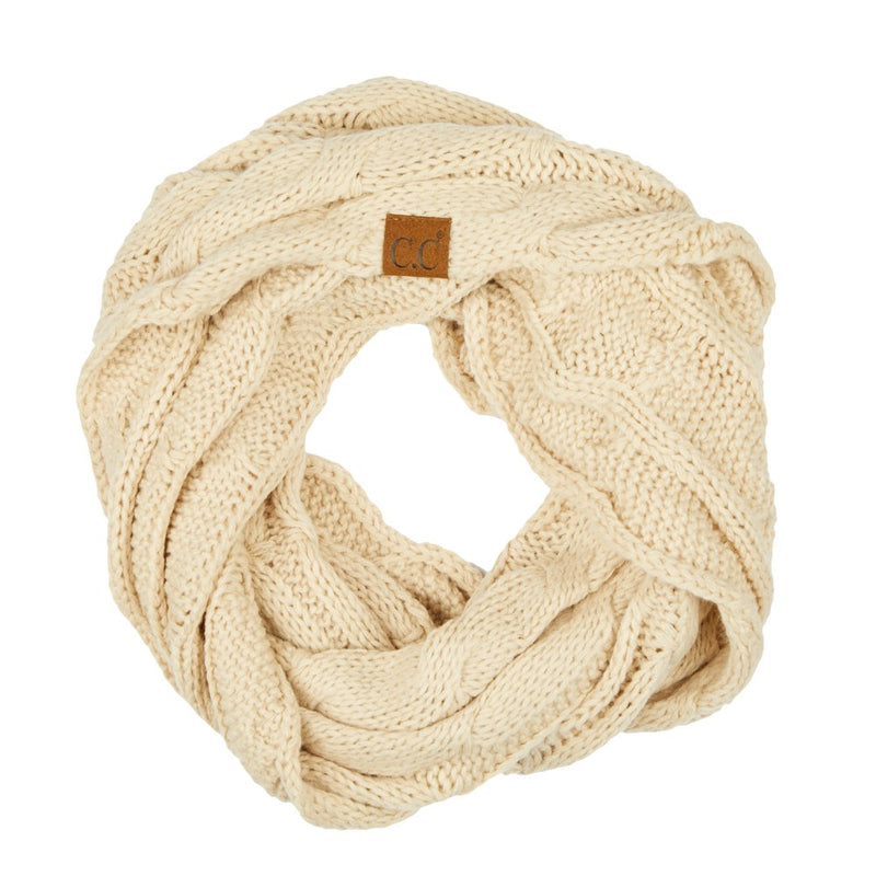 THE SCARF ME UP - BEIGE