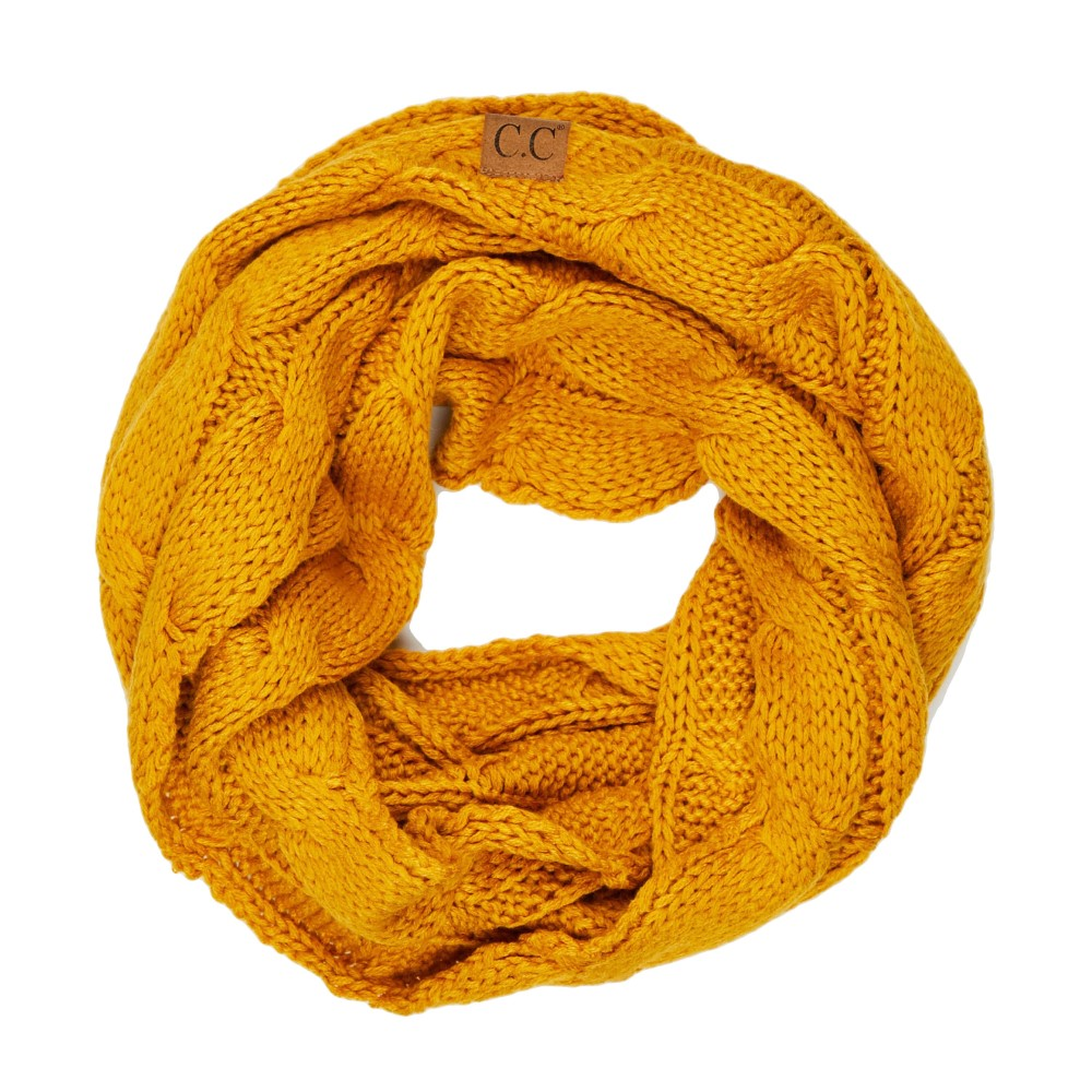 THE SCARF ME UP - MUSTARD