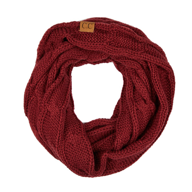 THE SCARF ME UP - BURGUNDY