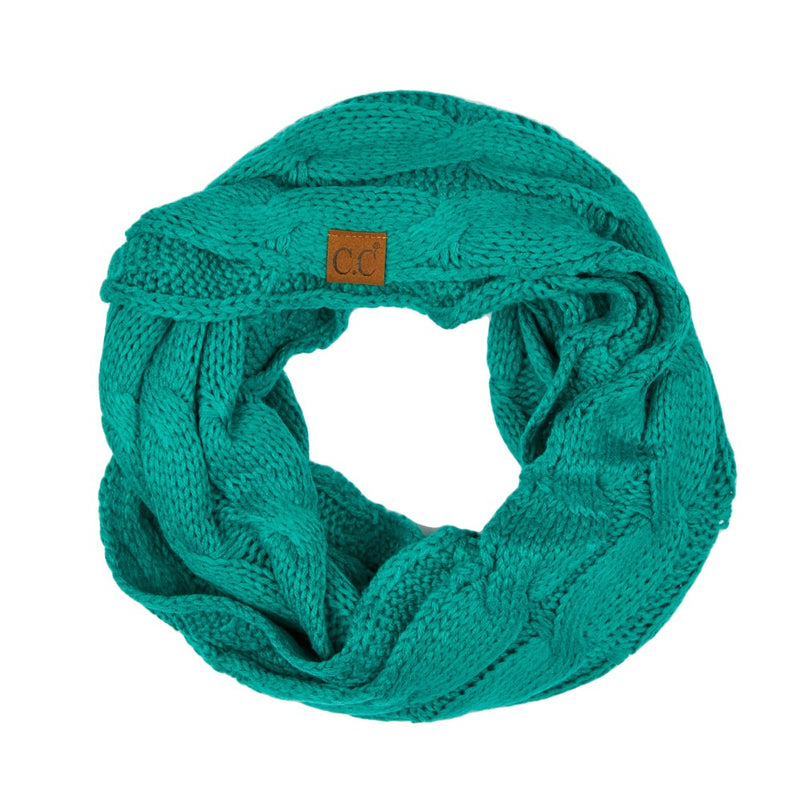 THE SCARF ME UP - SEA GREEN
