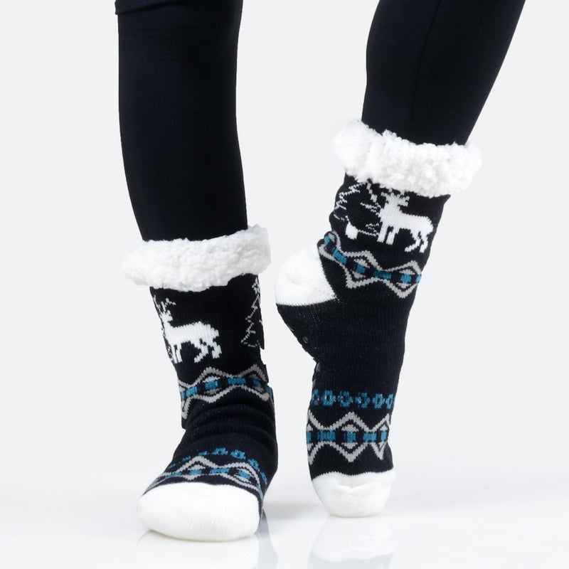 THE TWINKLE TOES - BLACK/BLUE MULTI