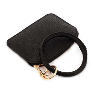 THE KEYRING POUCH - BLACK
