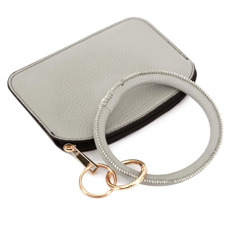 THE KEYRING POUCH - GREY