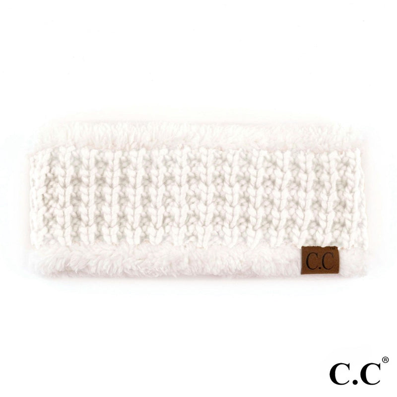 THE BANDED KNIT - IVORY