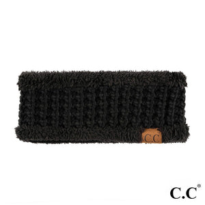 THE BANDED KNIT - BLACK