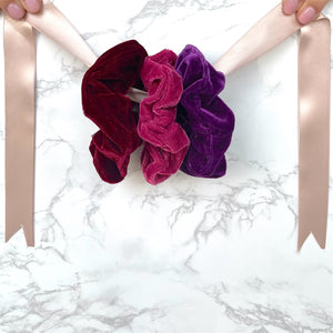 THE SCRUNCHIE SOLUTION - RED WINE BLEND