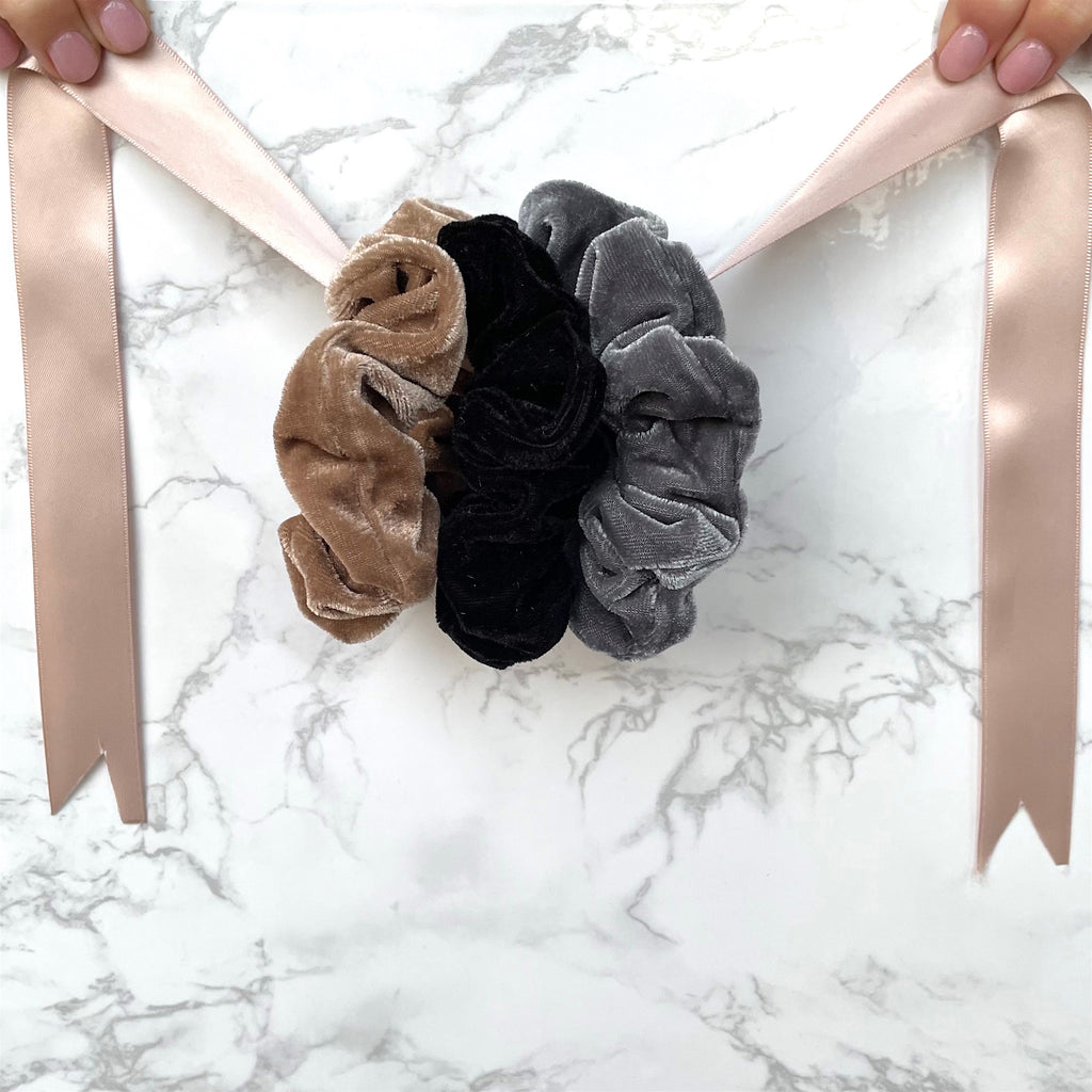 THE SCRUNCHIE SOLUTION - NEUTRALS