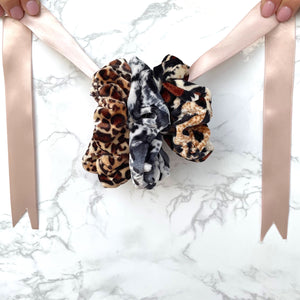 THE SCRUNCHIE SOLUTION - LEOPARD LOVER