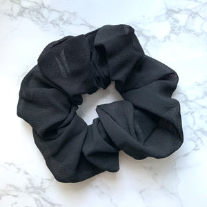 THE SCRUNCHIE - BLACK