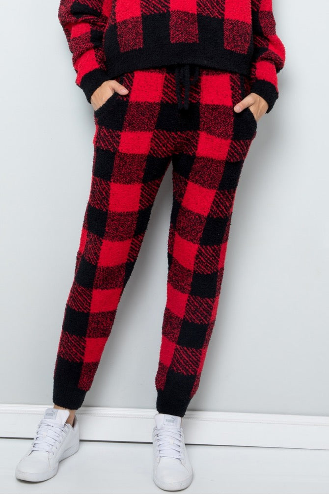 THE BABY ITS COLD OUTSIDE - BUFFALO PLAID