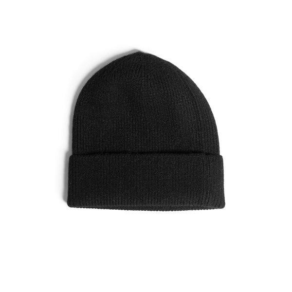 Black Wool Toque